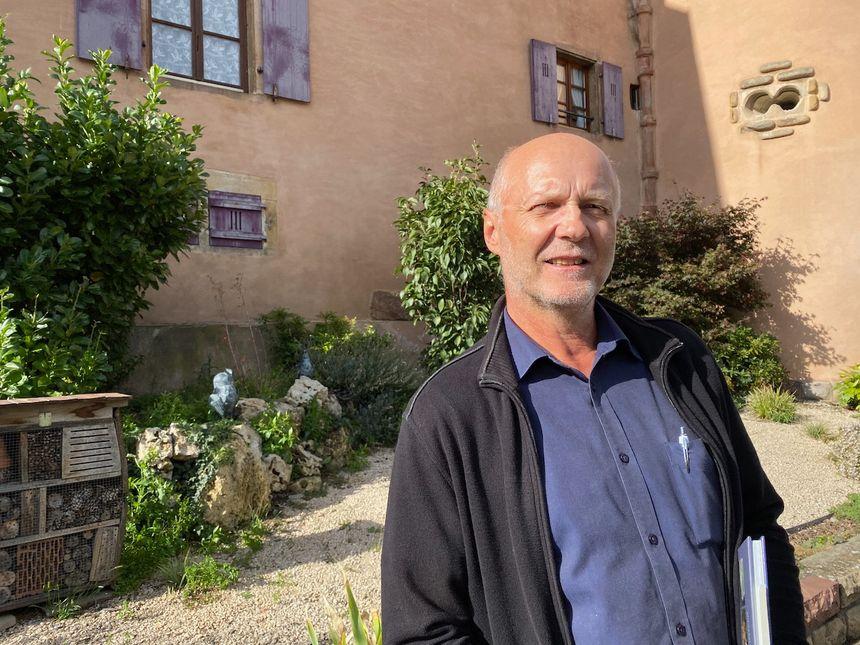 Soultzmatt, André SCHLEGEL, historien et viticulteur