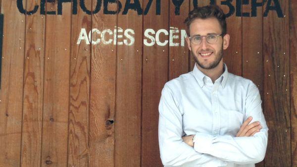 Alexandre Hémardinquer, directeur exécutif du festival Voix d'Automne