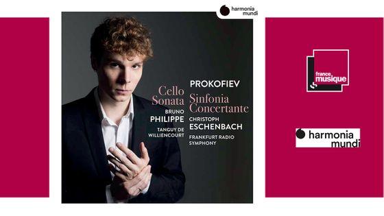Prokofiev : Cello Sonata, Sinfonia Concertante / Bruno Philippe - Christoph Eschenbach