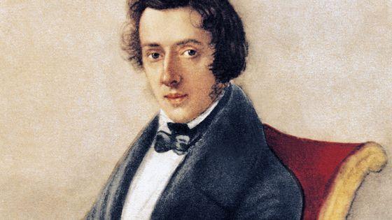 Portrait de Frédéric Chopin (1810-1849), par Maria Wodzinska.