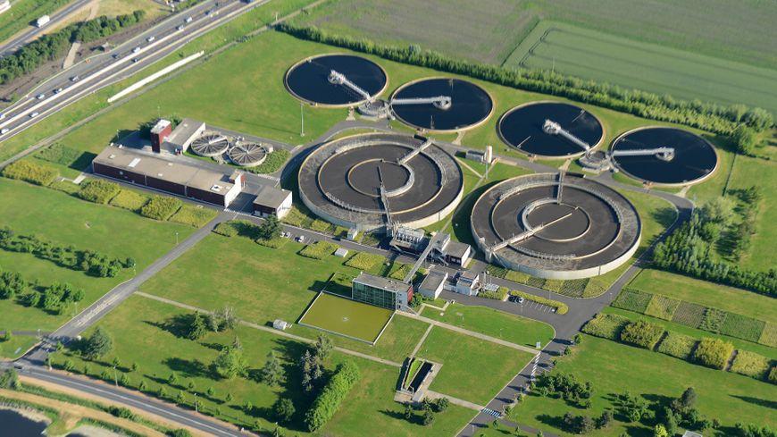 La station d'épuration des trois rivières à Clermont-Ferrand.