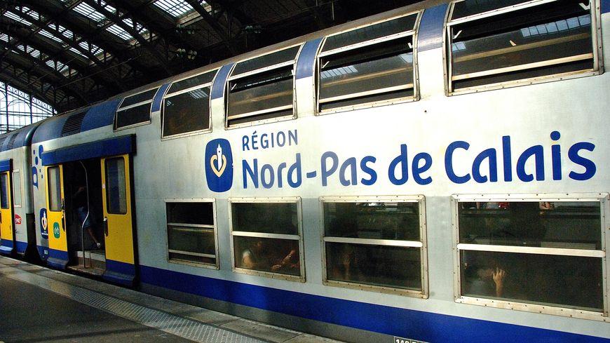 Un TER en gare de Lille (photo d'illustration)