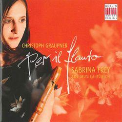 Sonate canonique en sol min GWV 216 : sans nom de mouvement - Sabrina Frey
