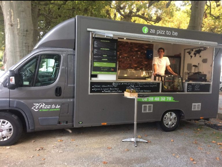 The pizz to be le food truck de Guillaume