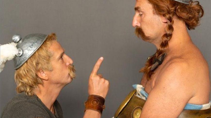 Guillaume Canet et Gilles Lelouche teasent le futur film Astérix.