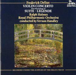 Legende pour violon et orchestre - Ralph Holmes
