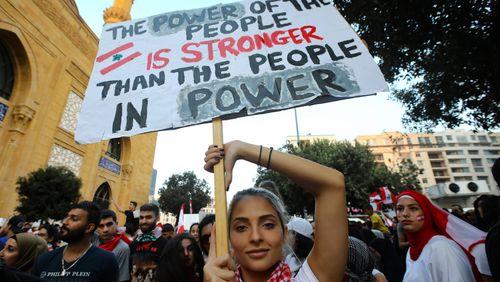 Tant de pays où règne une protestation sociale…