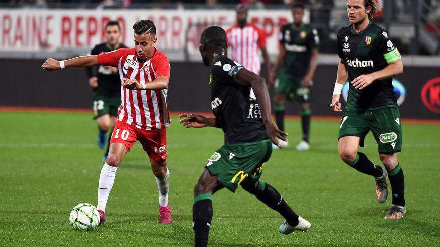Amine Bassi et les Nancéiens n'ont pas réussi à marquer malgré un très gros match
