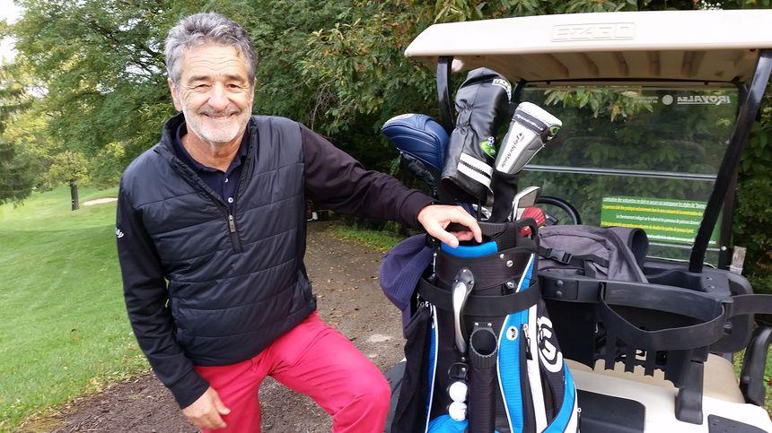 Bruno Saby, golfeur passionné