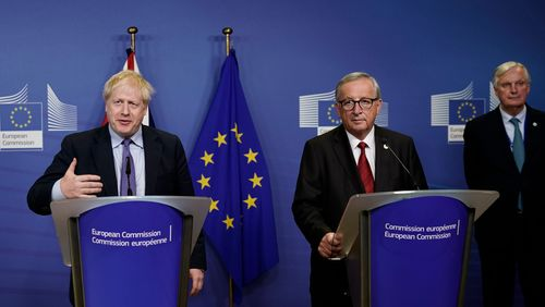 Brexit : un accord trouvé in extremis à Bruxelles