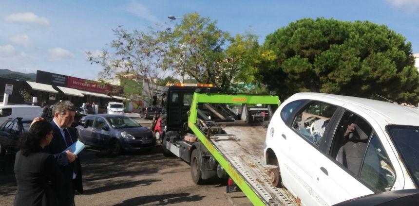 Les propriétaires indentifiés des véhicules enlevés devront rembourser la fourrière