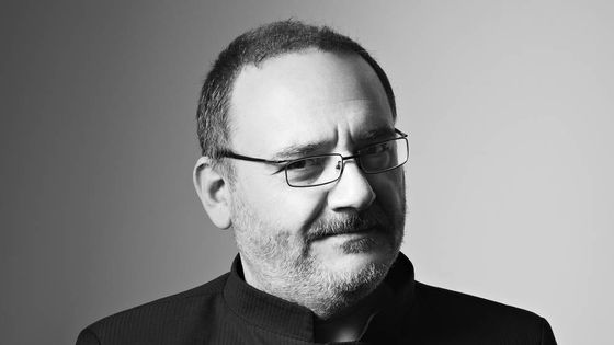 Le chef d'orchestre et claveciniste italien Rinaldo Alessandrini