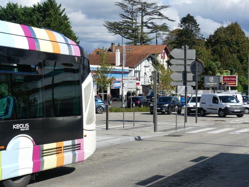 Les bus de chronoplus à Anglet