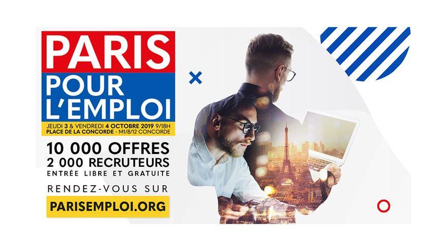 Le salon Paris pour l' Emploi 2019