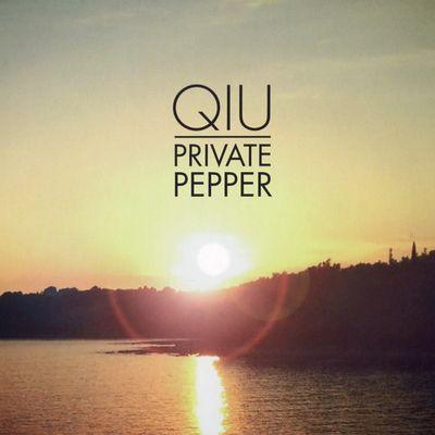 "Pochette de l'album ""Qiu"" par Private Pepper"