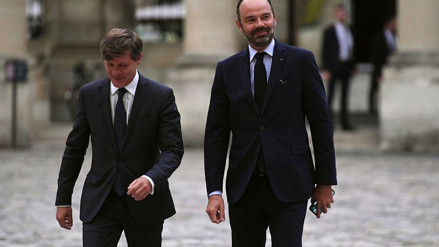 Accueil Républicain pour Edouard Philippe à la mairie de Bordeaux