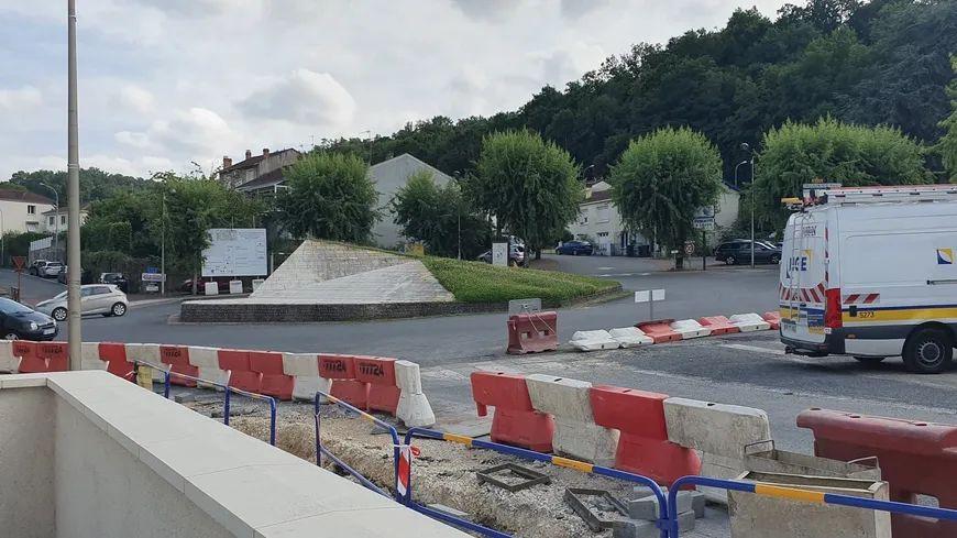 Les travaux ont débuté le 22 juillet dernier à Coulounieix-Chamiers.