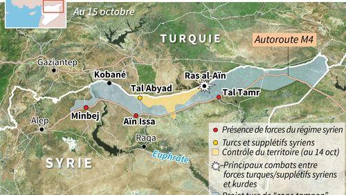 Syrie : les Kurdes résistent à l'offensive turque