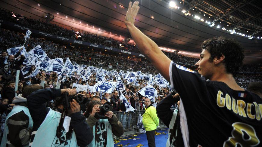 Yoann Gourcuff et les Girondins remportent la coupe de la Ligue 2008/2009 face à Vannes 4/0. Dernier succès en date pour Bordeaux