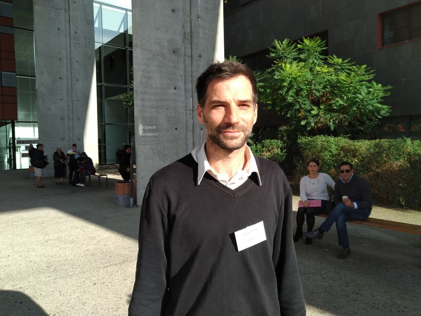 Le professeur Etienne Merlin du CHU Estaing à Clermont-Ferrand