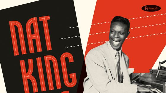 Nat King Cole - Hittin' the Ramp, couverture du coffret