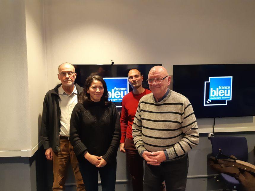 Les bénévoles de l'association AVF Reims accueillent les nouveaux arrivants