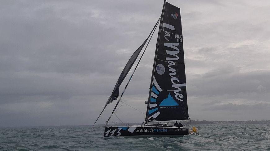 Le Voilier #AttitudeManche du skippeur Martin Louchart prendra le départ de la Transat Jacques-Vabre le 27 octobre 2019
