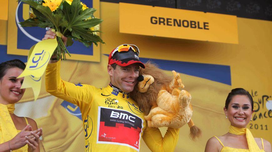 En 2011, Cadel Evans avait remporté le Tour sur le contre la montre de Grenoble à la veille de l'arrivée.