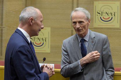 Thierry Bolloré (à gauche) et Jean-Dominique Sénard