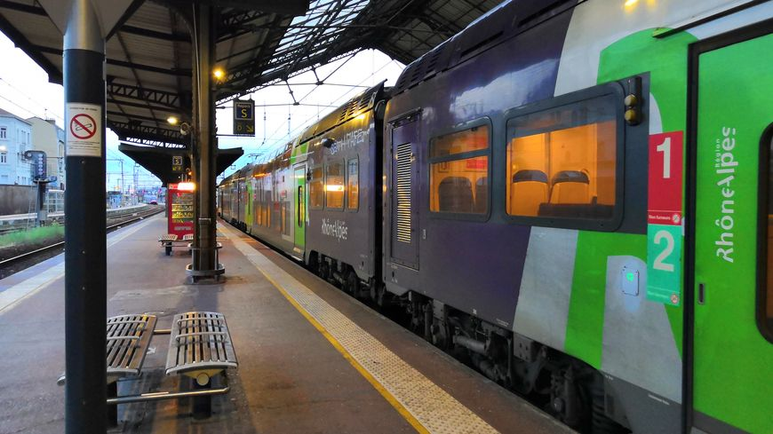 Photo d'illustration TER gare de Valence ville