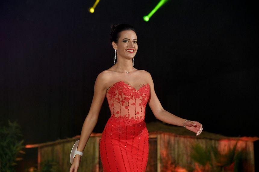 Chloé Prost lors de l'élection de Miss Rhône-Alpes le Samedi 19 Octobre 2019