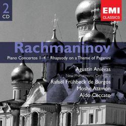 Rapsodie sur un thème de Paganini op 43 : Introduction et variation n°1 - pour piano et orchestre - AGUSTIN ANIEVAS
