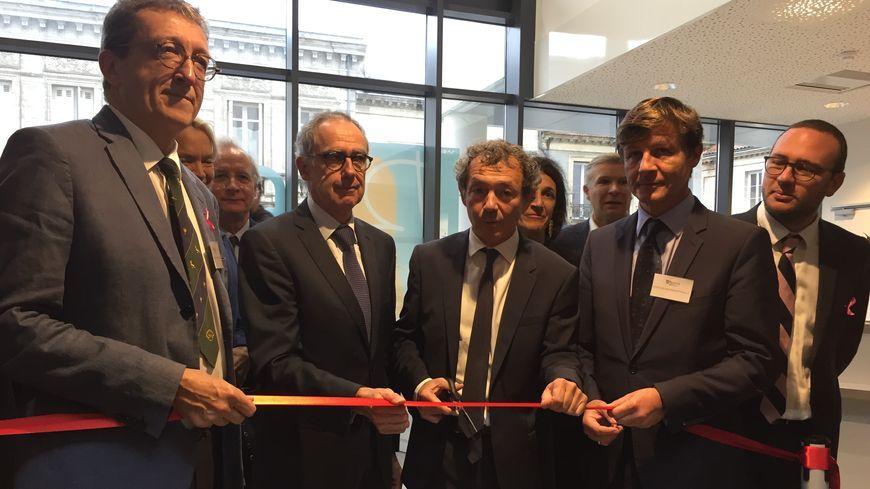 Le nouveau pôle Josy Reiffers de l'institut Bergonié a été inauguré ce jeudi en présence des élus.