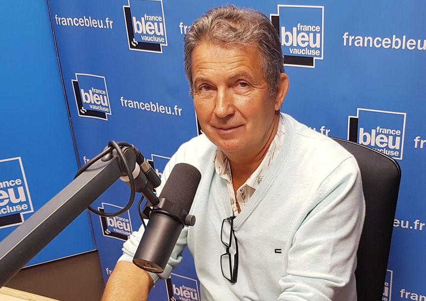 André Horard, propriétaire du moulin Clos des Jeannons à Gordes