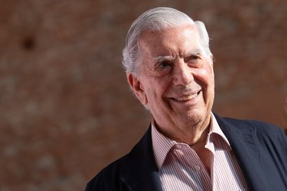 Mario Vargas Llosa en juin 2019 à Madrid