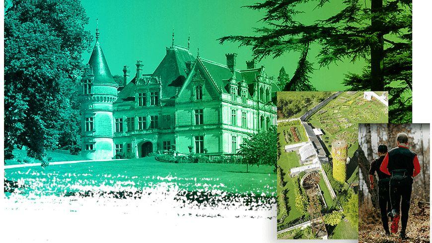Courir au Château de la Bourdaisiere