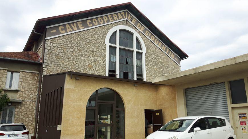 La cave coopérative de Saint Quentin la Poterie VSQP