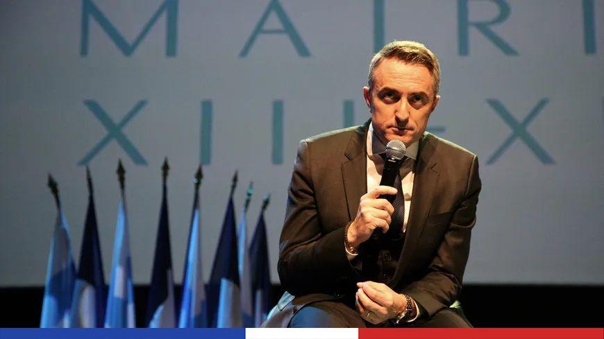 Stéphane Ravier, maire des 13e et 14e arrondissements de Marseille, le 11 janvier 2017