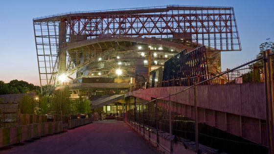 La construction de la Philharmonie de Paris