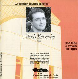Sonate en si min BWV 1030 : Allegro - pour clavecin et flute traversiere - ALEXIS KOSSENKO