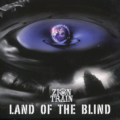 "Pochette de l'album ""Land of the blind"" par Zion Train"