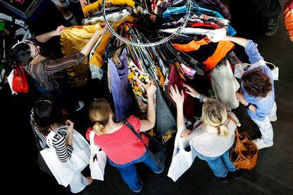 Salon de la mode vintage à Lyon, 2013 (image d'illustration)