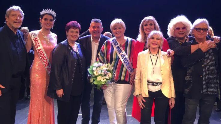 Christiane Brunel a été élue Super Mamie Ardèche ce dimanche