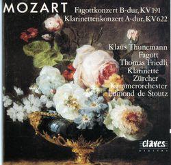 Concerto en La Maj K 622 pour clarinette et orchestre : I. Allegro - THOMAS FRIEDLI