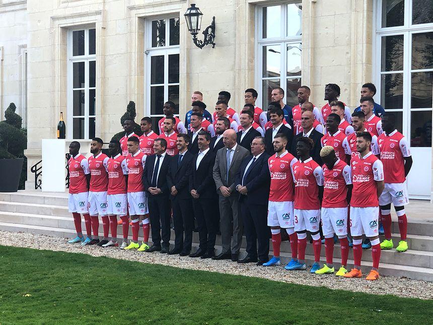 La photo officielle 2019-2020 à l'hôtel du Marc chez Veuve Clicquot à Reims.
