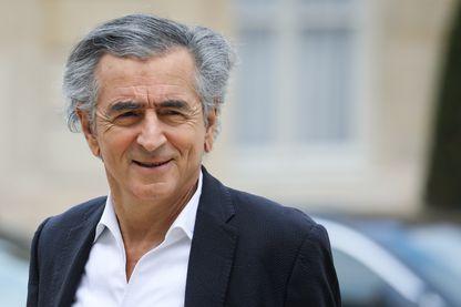 Bernard-Henri Levy à l'Elysée en 2019