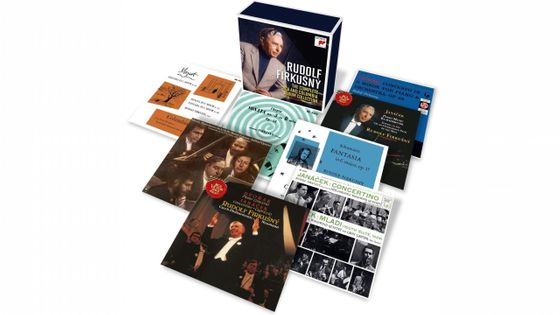Rudolf Firkusny-The Complete RCA and Columbia Album Collection