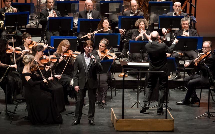 Un des moments inoubliables pour lui et évoqué dans sa biographie : son concert avec L'Orchestre régional Avignon-Provence