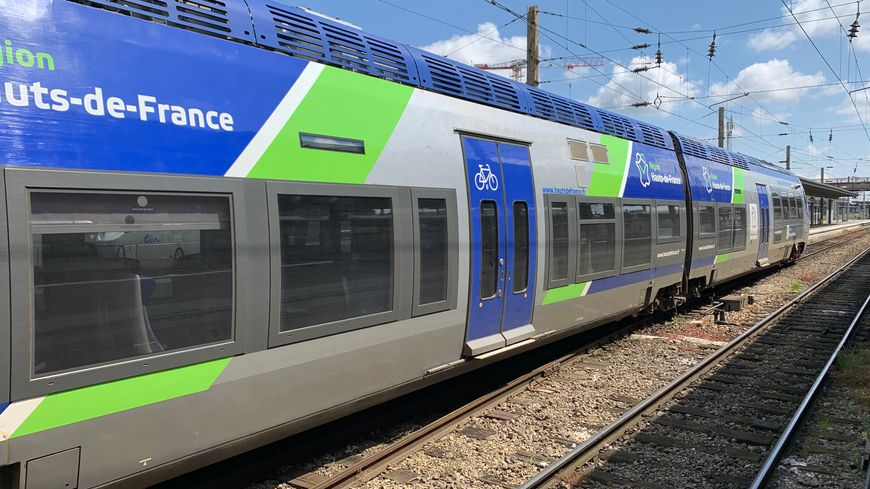 Un train TER de la région des Hauts-de-France