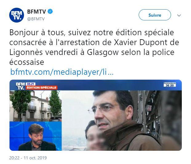 Xavier Dupont De Ligonnes L Empreinte De L Erreur
